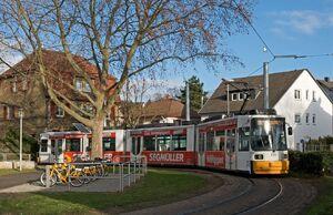 Am Schinnergraben lijn52 GT6M 2