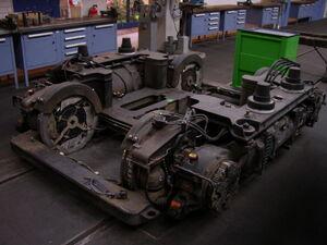 Combino tram chassis