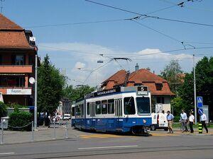 Laubegg lijn5 Tram2000