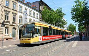 Karlsruhe Kronenplatz lijn1