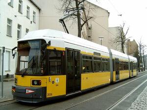 Haeckelstraße lijn27 GT6NZ