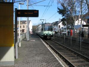Oberkassel Süd Römlinghoven lijn66 B