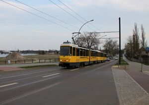 Regattastraße Schule lijn68 KT4D