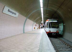 Rensingstraße U35 B