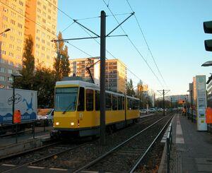 Möllendorffstraße Storkower Straße lijn21 KT4D