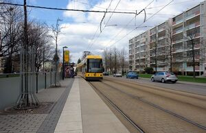 Marienberger Straße lijn1 NGT6DD