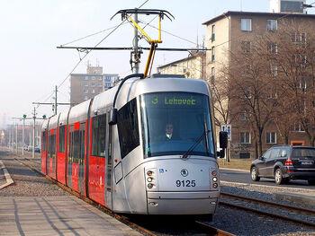 Sídliště Hloubětín lijn3 14T