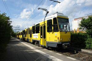 Zingster Straße lijnM4 KT4D