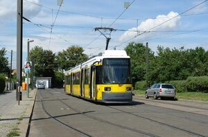 Björnsonstraße lijnM1 GT6N