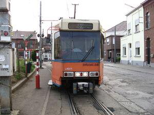 Anderlues lijn89 LRV