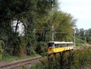Radebeuler Straße lijn4 T4D