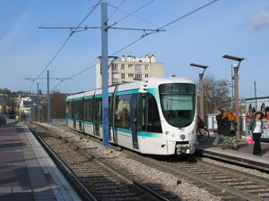 Paris tramway-T2
