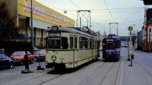 Rensingstraße lijn305 GT6