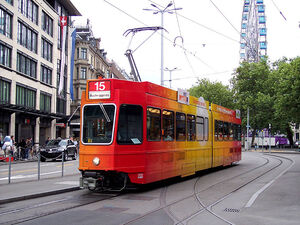Bellevue lijn15 Tram 2000