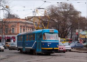 Tiraspol'skaya Ploshchad' lijn15 T3SU