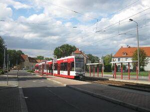 Sachsenplatz lijn5 MGT-K