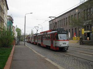 Kurt-Tucholsky-Straße lijn1 T4D