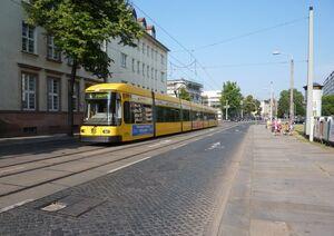 Permoserstraße lijn6 NGT8DD