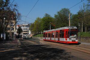 Merseburg Zentrum lijn5 MGT6D