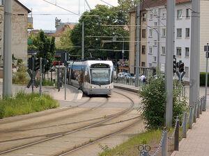 Saarbahn nach Warndt