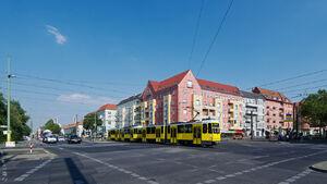 Greifswalder Straße Danziger Straße lijnM4 KT4D