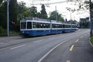 Balgrist lijn11 Tram2000