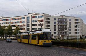 Bersarinplatz lijnM10 GT6N