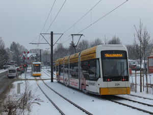 Ludwig-Nauth-Straße lijn53 Variobahn