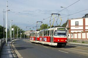 Pražská tržnice lijn24 T3R.P