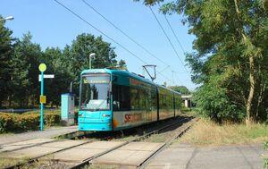 Kiesschneise lijn12 S