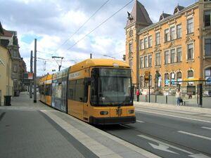 Alttrachau lijn4 NGT6DD