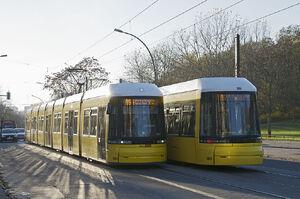 Judith-Auer-Weg lijnM5 Flexity