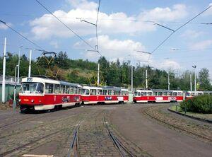 Nadrazi Hostivar lijn22 T3SU