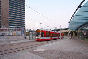Riebeckplatz lijn9 MGT6D