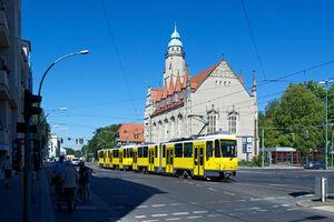 Bahnhofstraße Lindenstraße lijn67 KT4DM