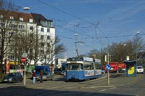 Sandstraße lijn22 P