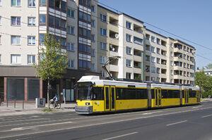 U Bernauer Straße lijnM10 GT6N