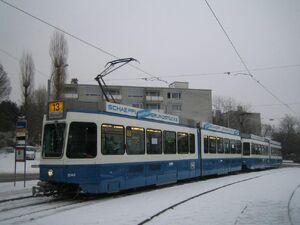 Frankental eindpunt lijn13 Tram2000