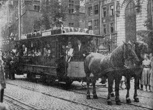 Gdansk tramwaj konny
