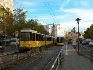 Hohenschönhauser Straße Weißenseer Weg lijnM6 KT4D