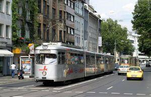 Klosterstraße lijn707 GT8