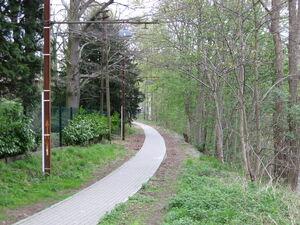 Morlanwelz lijn 80 wandelroute