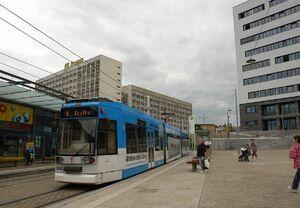 Riebeckplatz lijn8 MGT6D