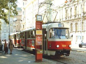 Hlavní nádraží lijn26 T3SU
