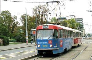 Olšanské náměstí lijn26 T3