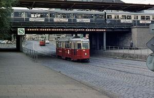 Bahnhof Landwehr lijn14 V6E