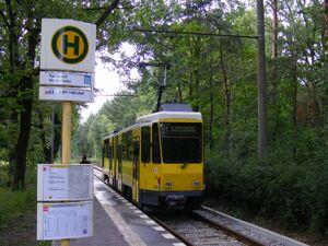 Rahnsdorf Waldschänke lijn61 KT4D
