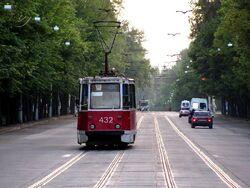 Tram in Krivoy Rog
