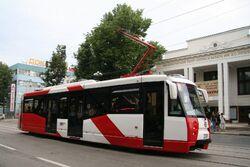 71-153 Strassenbahnfahrzeug in Nischni Nowgorod