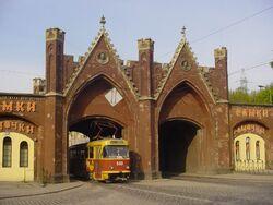 Kaliningrad Brandenburg Gate